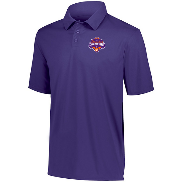 National Championship Dry-Fit Polo Purple
