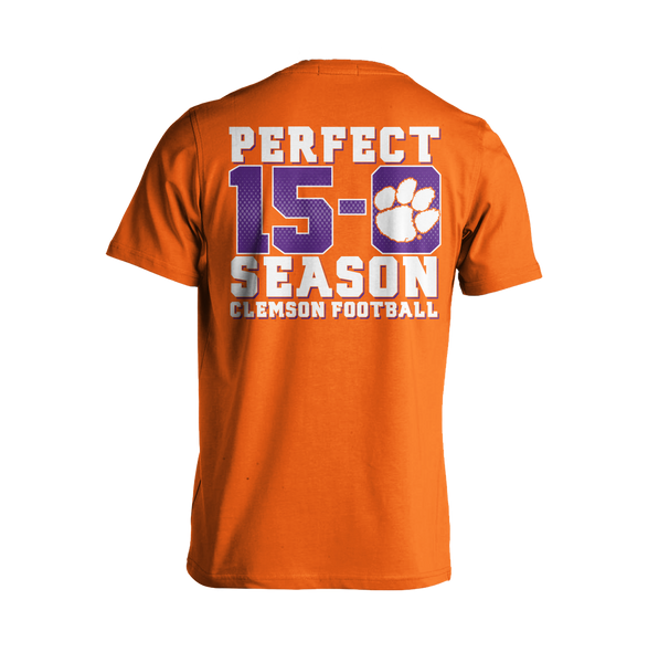National Championship Perfect Season T-Shirt Orange
