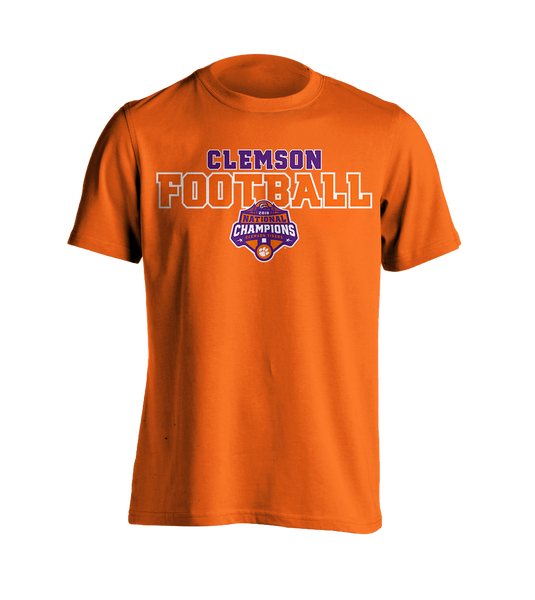 National Championship Football T-Shirt Orange