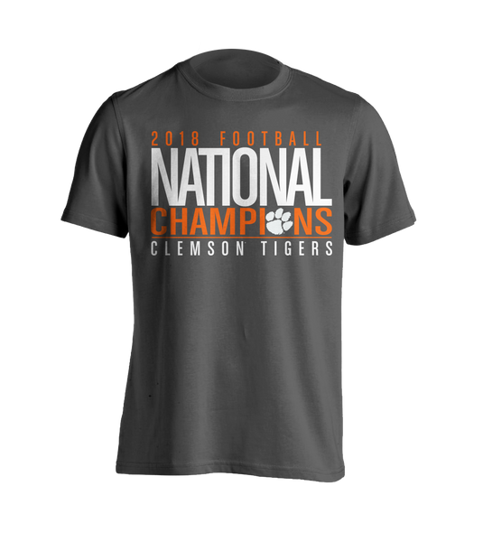 National Championship Bold T-Shirt Dark Heather