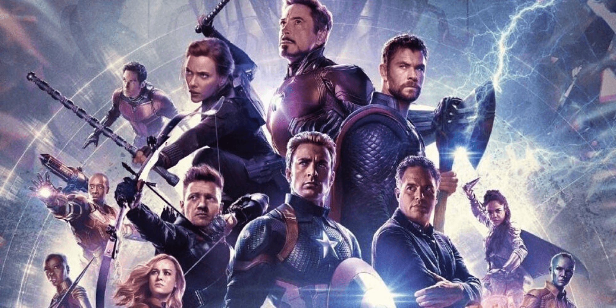 The cast of Avengers, official movie post