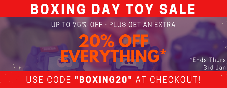 Boxing Day Toy Sale