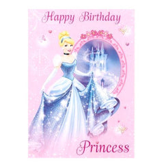 Cheap Birthday Cards - Disney Princess