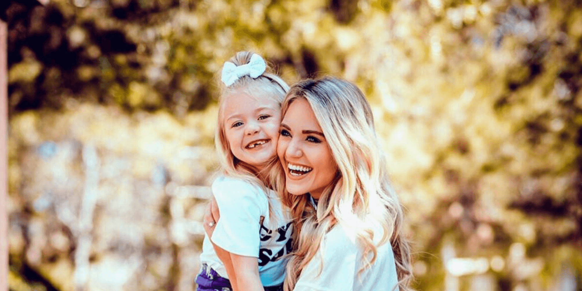 Everleigh Soutas and her mother