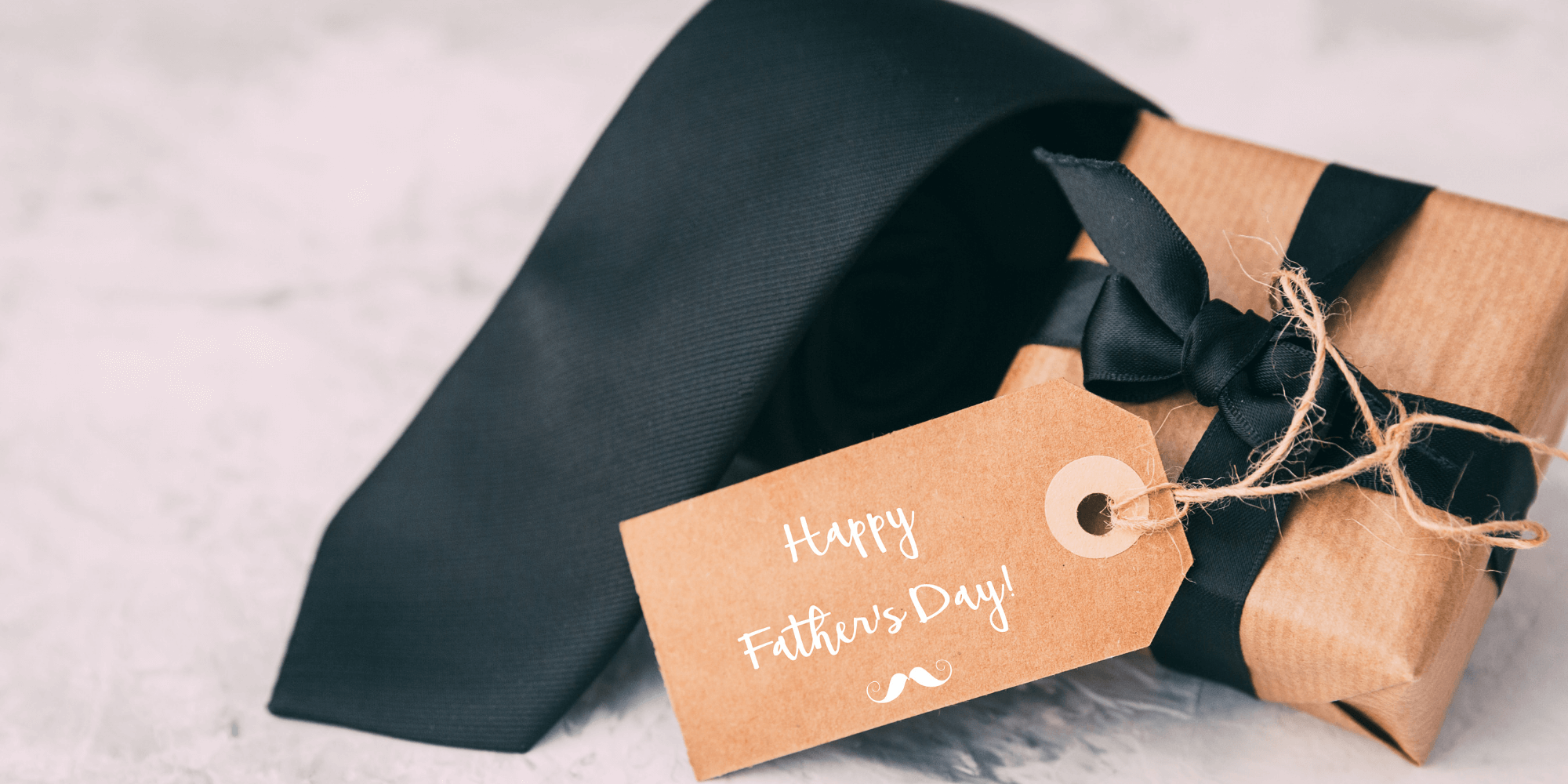 Happy Father's Day gift and tie