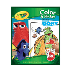 Finding Dory Colouring & Sticker