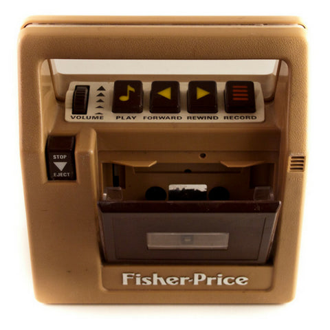 Fisher-Price Cassette Tape Player