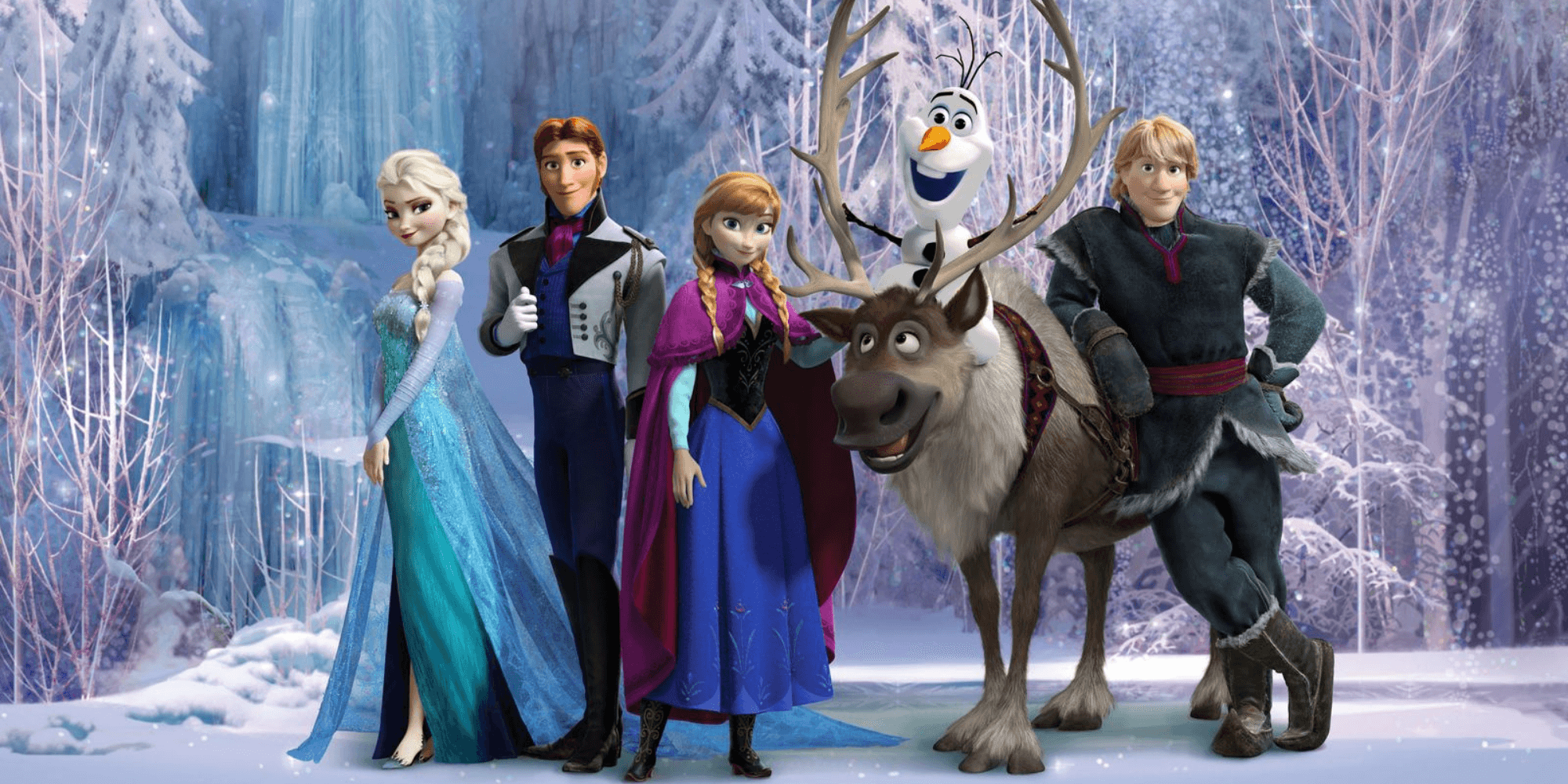 The characters from the first Frozen movie