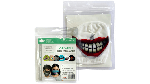 Joker Smile Kids Face Mask