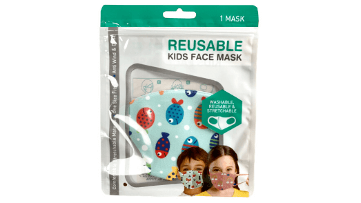 Marine Kids Face Mask