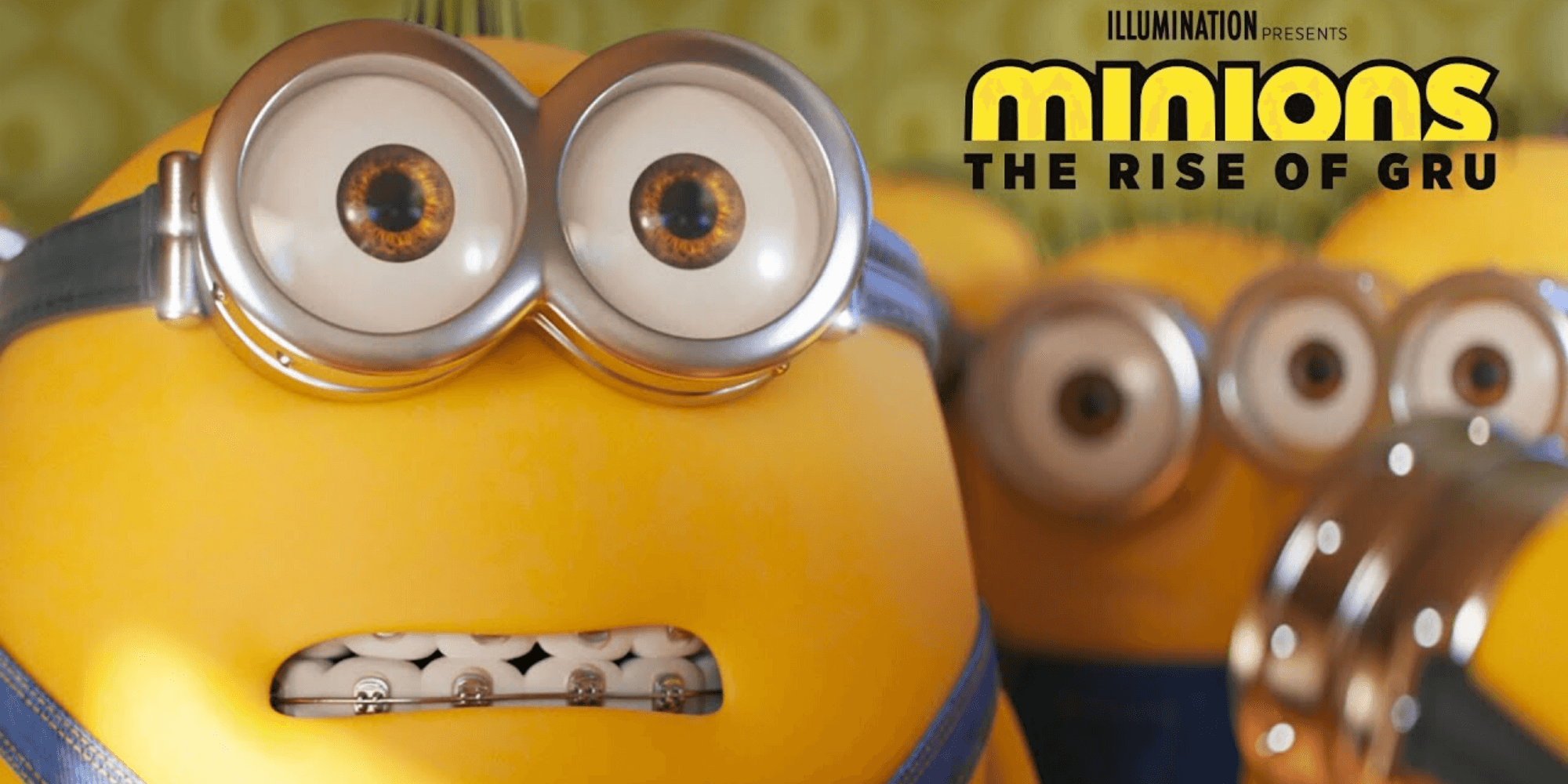 Minions The Rise Of Gru movie poster
