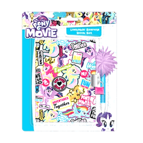 My Little Pony Lockable Secrets Book Set