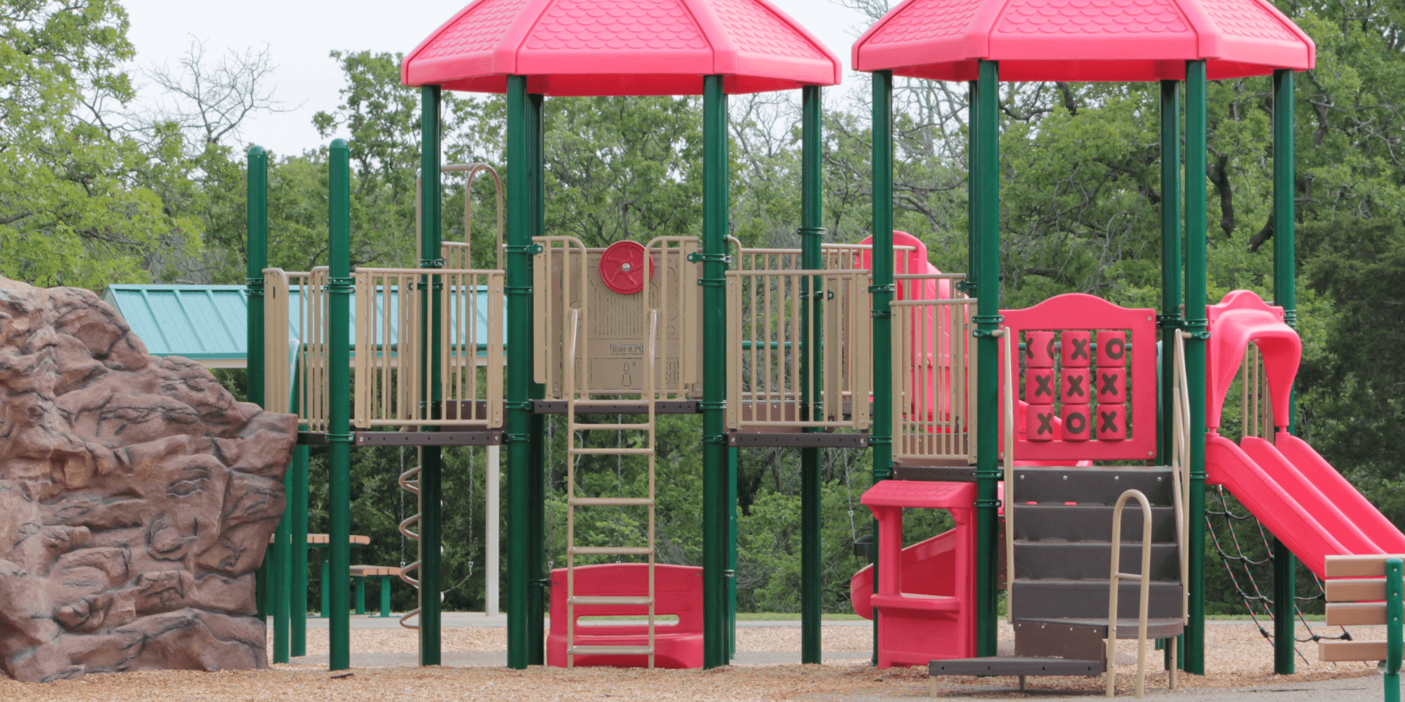 obstacle course in the park