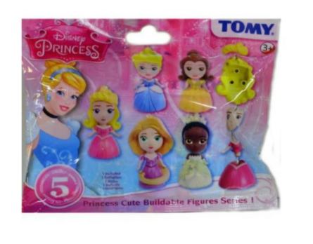 6 X Tomy Disney Frozen Collectable Figures Blind Bags Party Bag Fillers *new*