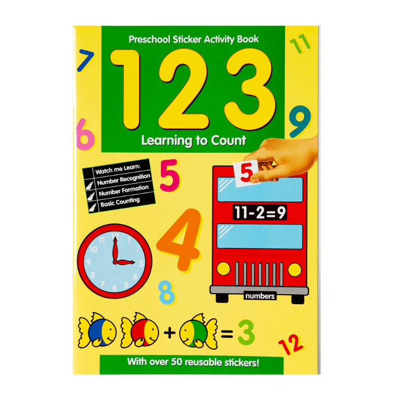 Learning To Count Activity Book