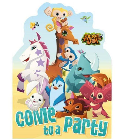 ANIMAL JAM JUNGLE PARTY INVITATIONS | Cheap Toys | PoundToy