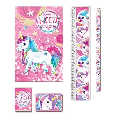 LITTLE UNICORN STATIONERY SET
