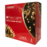40 WHITE FAIRY LIGHTS | Cheap Toys | PoundToy