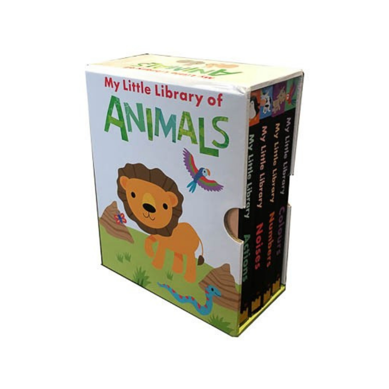 4 Book My Little Library Of Animals