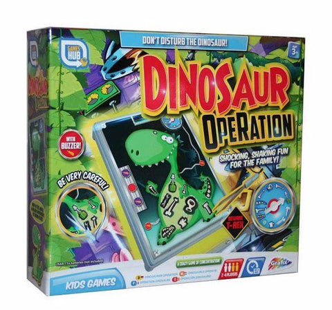 Grafix Dinosaur Operation Board Game