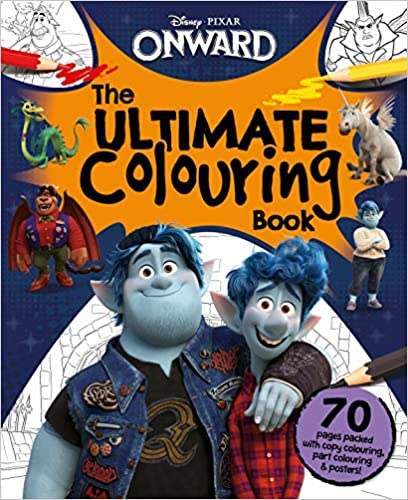 DISNEY ONWARD THE ULTIMATE COLOURING BOOK