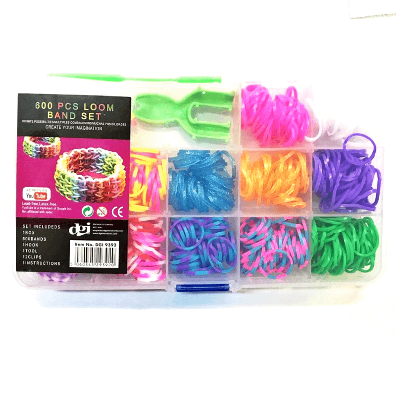 600 PIECE LOOM BAND SET | Cheap Toys | PoundToy