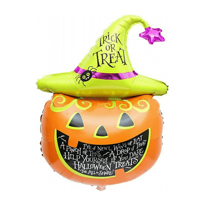 65cm Inflatable Pumpkin Foil Balloon