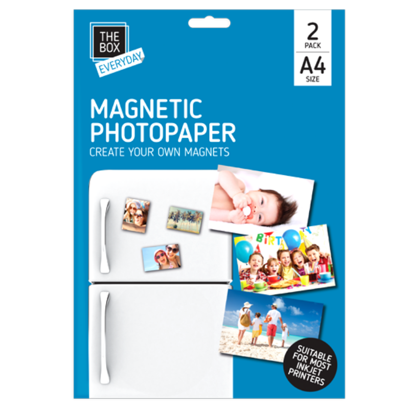 A4 MAGNETIC PHOTO PAPER | Cheap Toys | PoundToy