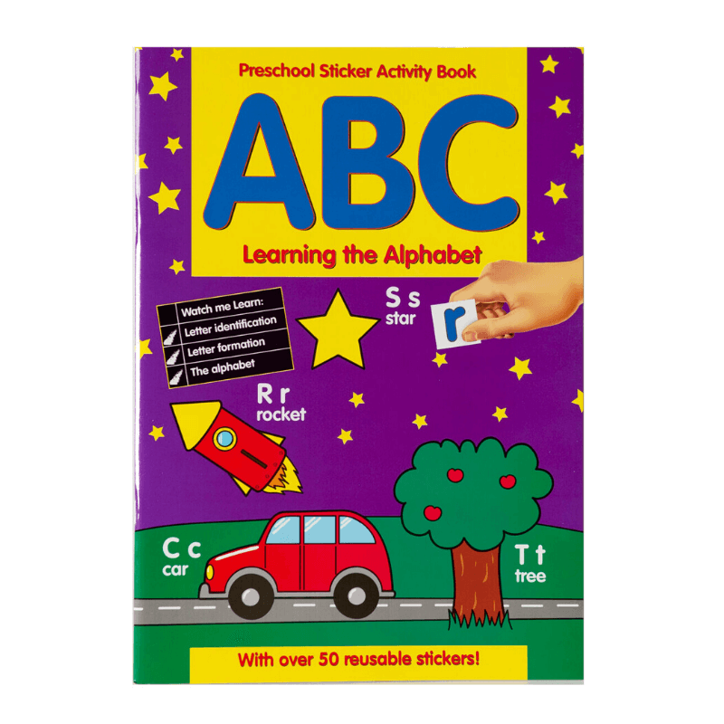 ABC Learning The Alphabet Activity & Sticker Book