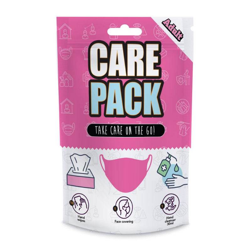 Adult Pink Care Package - Sml/Med
