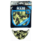 Adults Face Protector Mask - Army Medium/Large