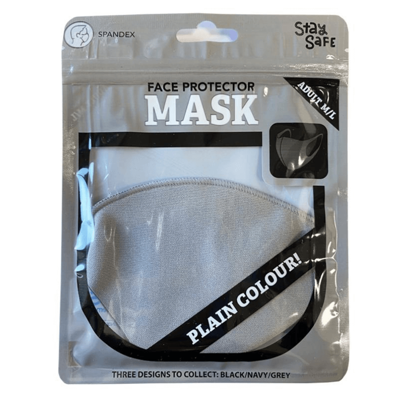Adults Face Protector Mask - Grey