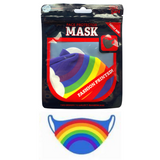 Adults Face Protector Mask - Rainbow