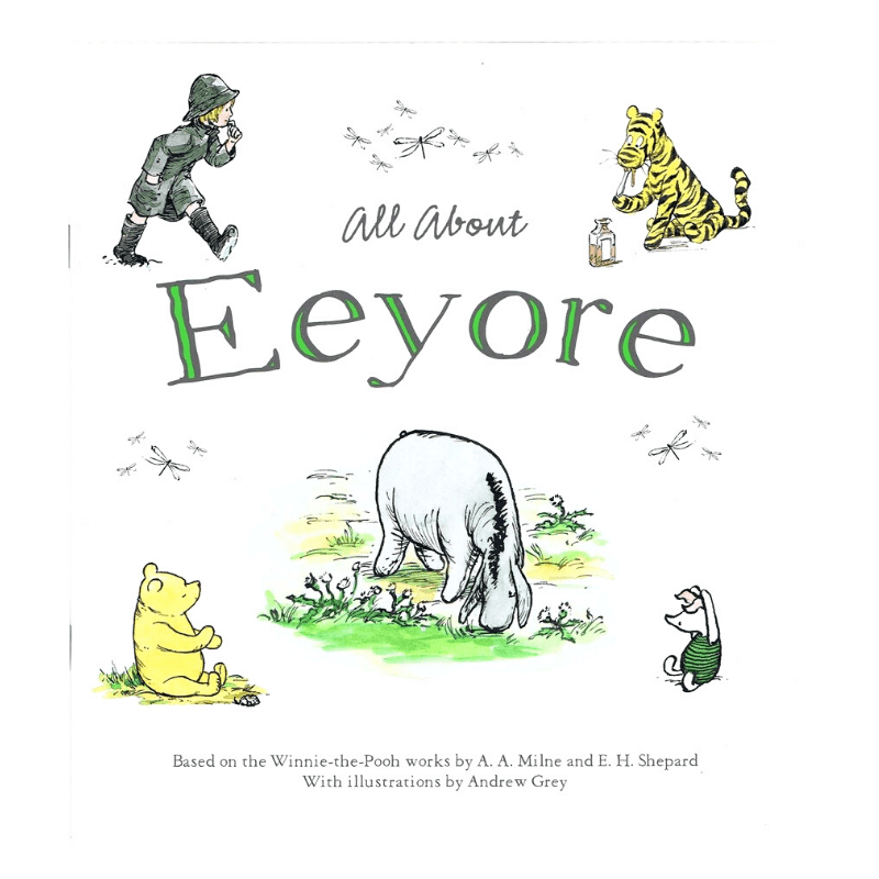 ALL ABOUT EEYORE BOOK