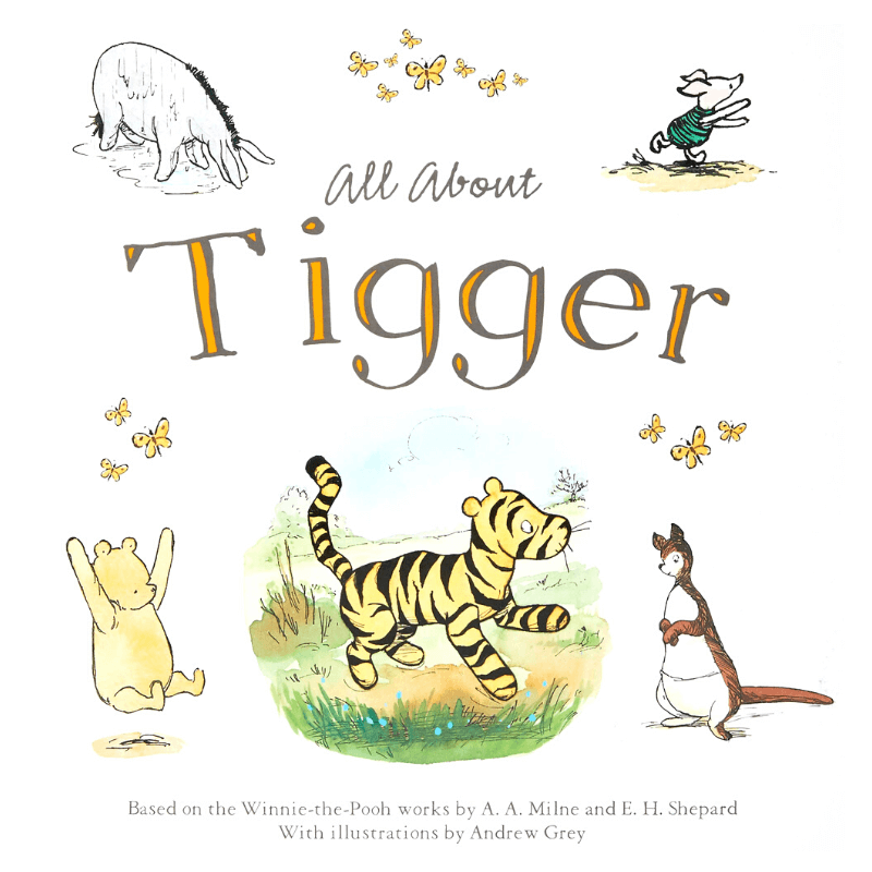 All About Tigger Book