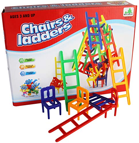 BALANCING CHAIRS & LADDERS GAME | Cheap Toys | PoundToy