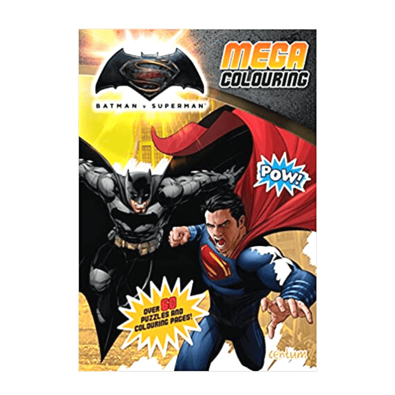 BATMAN V SUPERMAN MEGA COLOURING & ACTIVITY BOOK