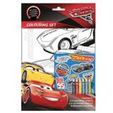 DISNEY PIXAR CARS 3 COLOURING SET