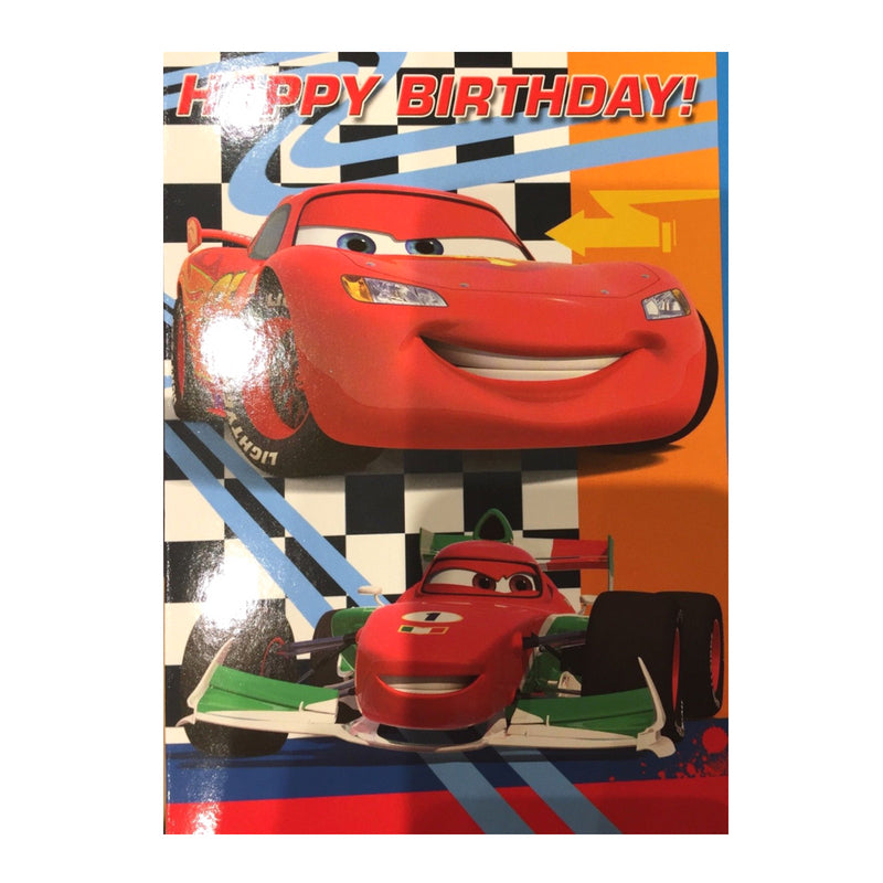 DISNEY CARS BIRTHDAY CARD | Cheap Toys | PoundToy