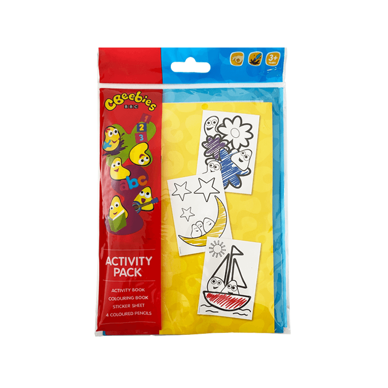 Cbeebies Activty Pack