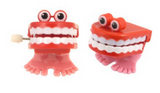 2 WIND UP CHATTERING TEETH | Cheap Toys | PoundToy