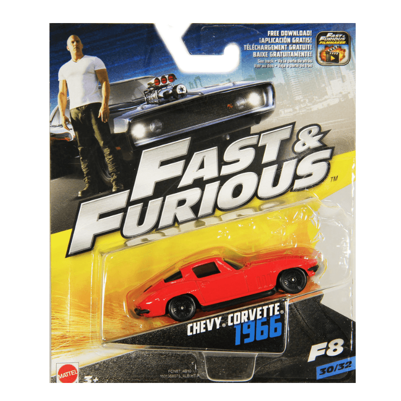 FAST & FURIOUS 1966 CHEVY CORVETTE VEHICLE | Cheap Toys | PoundToy
