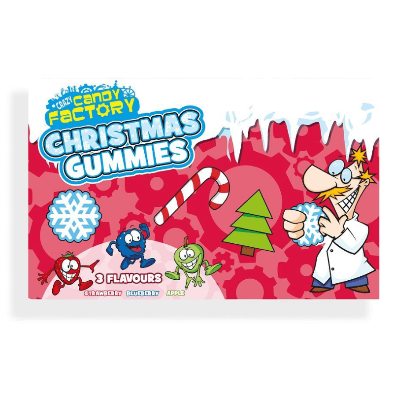 Crazy Candy Factory Christmas Gummies