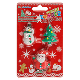 Christmas Eraser Puzzles