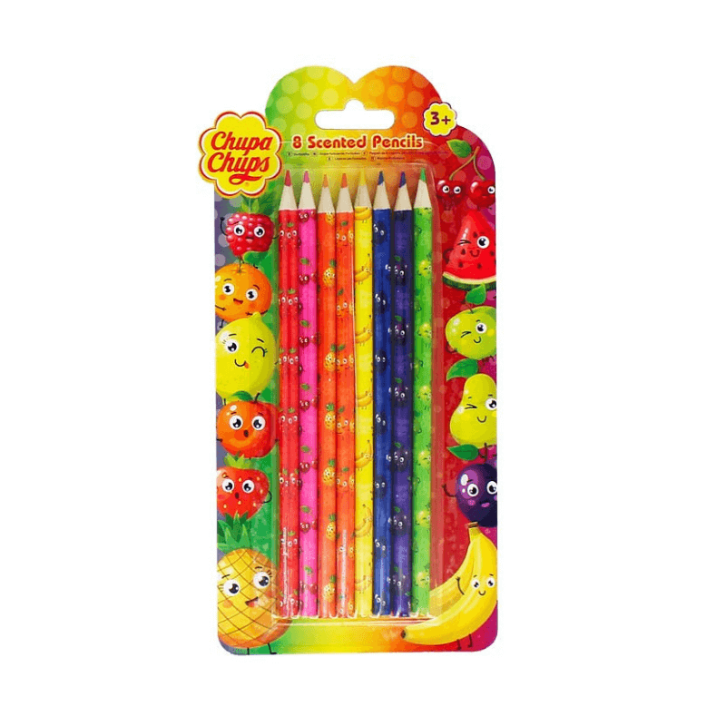 Chupa Chups Scented Colouring Pencils