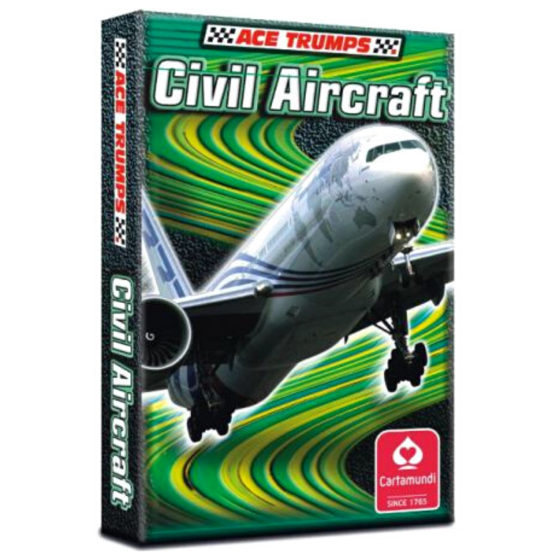CIVIL AIRCRAFT ACE TRUMPS CARDS