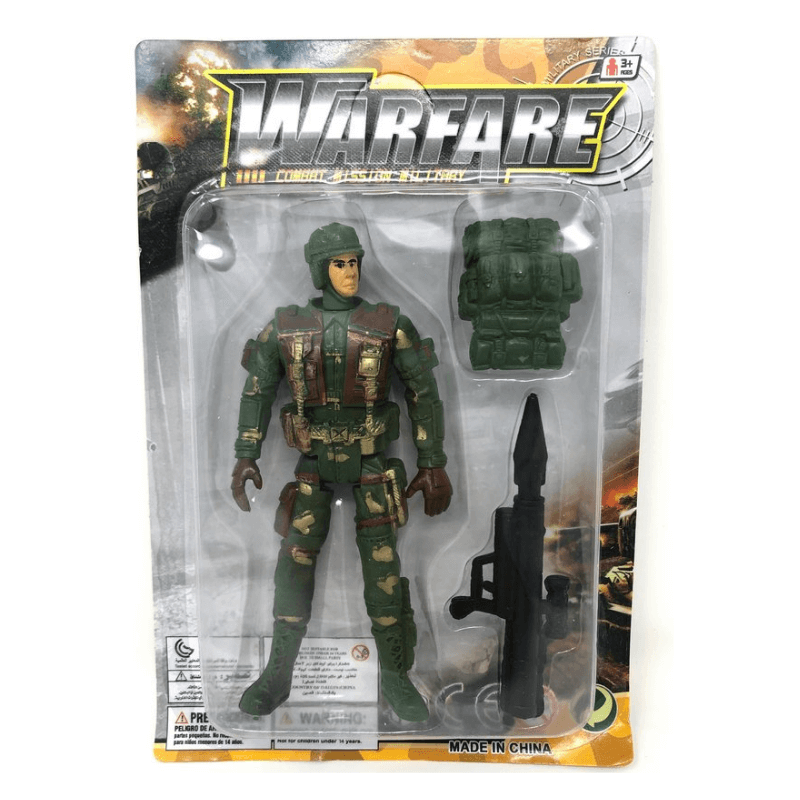 Combat Mission Military Action Figure