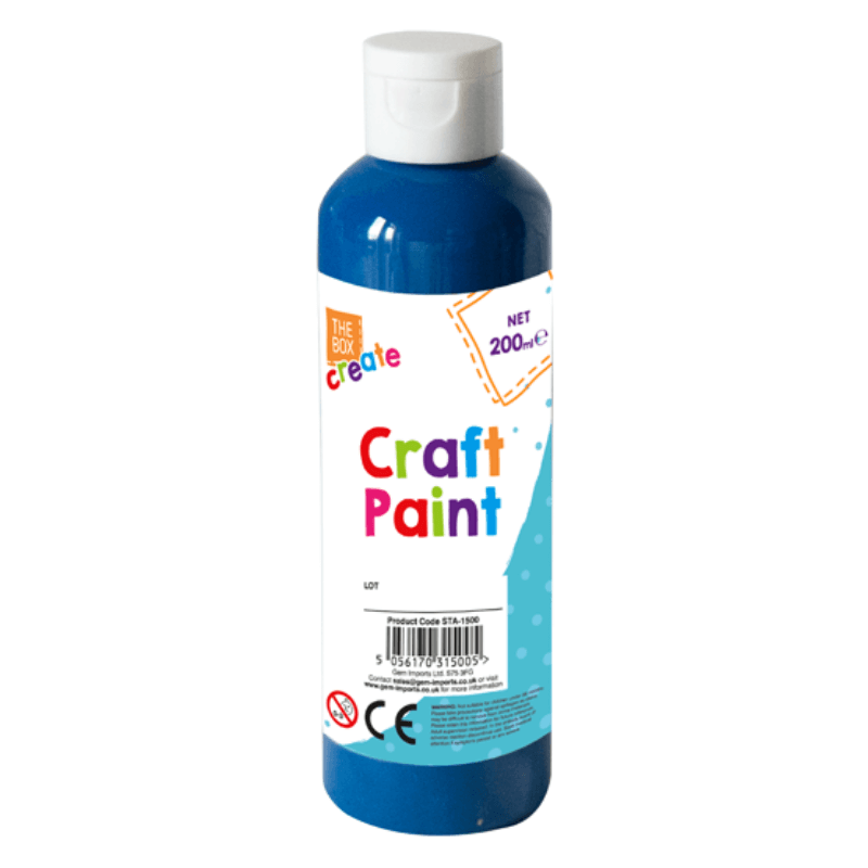 Blue Craft Paint 200ml