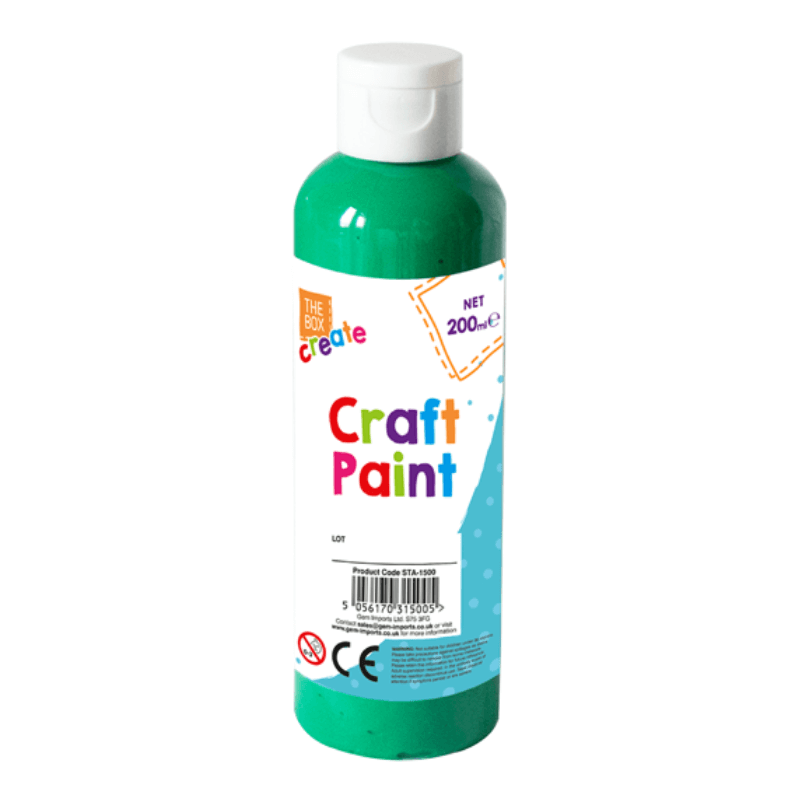 Green Craft Paint 200ml