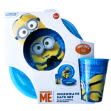 Despicable Me Minions Microwave Safe Lunch Set